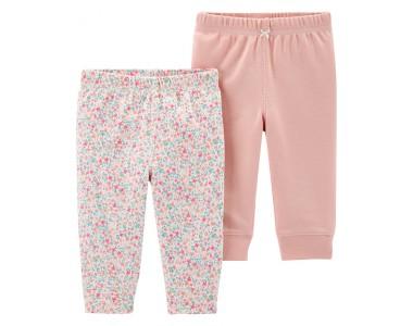 17633610 комплект из штанишек с цветочными принтами.