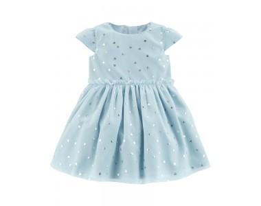 120G246 роскошное праздничное платье с трусиками из тафты и тюля