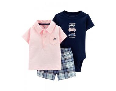 16503110 майка-поло, шорты и боди