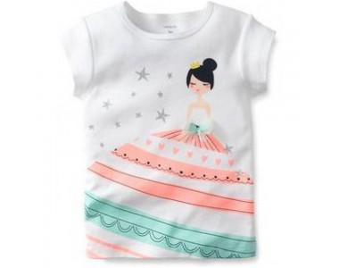 "235B118 Fancy Dress Tee/ футболка ""принцесса"";"