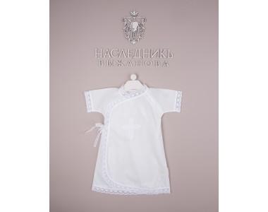 402-1-БЛ Рубашка крестильная (цв. белый.)
